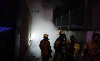 İstanbul'da Son Dakika- İstanbul'da Korkutan Fabrika Yangını