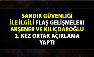 İstanbul seçimleri son durum! Kılıçdaroğlu ve Akşener, sandık güvenliği hakkında flaş açıklamalarda bulundu