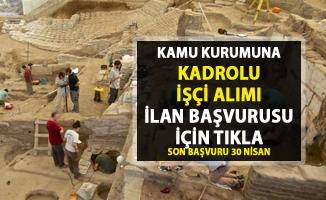 Kamu memur alımı iş ilanları! Kültür ve Turizm Bakanlığı'na kadrolu işçi alımı yapılacaktır..