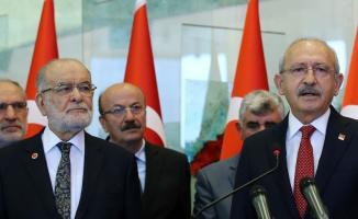 Kılıçdaroğlu ve Karamollaoğlu Ortak Basın Açıklaması Yaptı
