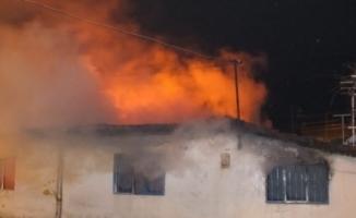 Korkunç Yangın- Baca Tutuşması Sonrası 5 Ev Kül Oldu