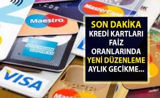 Kredi Kartlarında faiz oranları! Merkez Bankası'ndan faiz düzenlemesi
