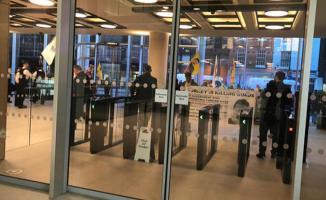 Londra'da PKK'dan Provokasyon! TRT Binasına Saldırı Düzenlendi