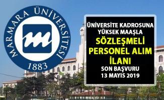Marmara Üniversitesine Yüksek maaşlı personel alımı yapılacaktır! Başvuru şartları nelerdir?