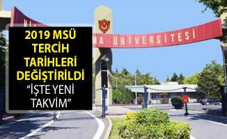Milli Savunma Üniversitesi (MSÜ) Tercih Tarihleri Değiştirildi! MSÜ Tercih Kılavuzu Yayımlandı Mı?