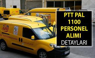 PTT PAL 1100 Personel Alımı Şartları! PTT PAL Personel Alımı 2019! PTT Personel Alımı