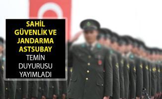 Sahil Güvenlik ve Jandarma Genel Komutanlığı Astsubay Temin Duyurusu Yayımladı