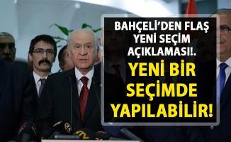 SON DAKİKA!.. Bahçeli'den İstanbul için yeni bir seçim açıklaması!