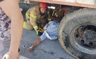 TEM otoyolu Ispartakule Mevkii'nde trafik kazası!