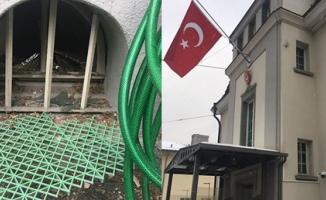 Türkiye Düşmanları İş Başında! Zürih Başkonsolosluğu'na Molotoflu Saldırı Düzenlendi