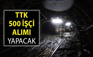 Türkiye Taş Kömürü Kurumu (TTK) 500 İşçi Alımı Yapacak- TTK 500 İşçi Alımı Ne Zaman? TTK 500 İşçi Alımı 2019