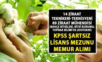 Ziraat mühendisi ve ziraat teknikeri personel alımı! İŞKUR memur alım ilanları