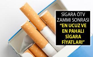 2019 Güncel Sigara Zammı Fiyat Listesi! Sigara Fiyatları Ne Kadar? En Ucuz ve En Pahalı Sigara Hangisi?
