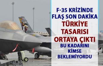 ABD Türkiye arasında F-35 krizi son dakika gelişmesi!