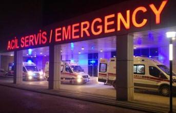 Afyonkarahisar'da İşçileri Taşıyan Minibüs Devrildi! 7 Kişi Yaralandı