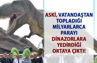 ASKİ, Vatandaştan toplanan paraları alt yapı çalışmaları yerine Ankapark'a yatırdığı ortaya çıktı!