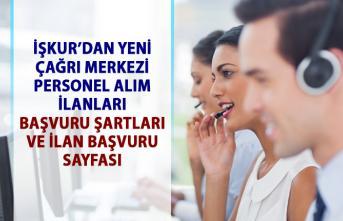 Çağrı Merkezi elemanı alım ilanları! İŞKUR'dan müşteri temsilcisi personel alımı iş ilanları!..