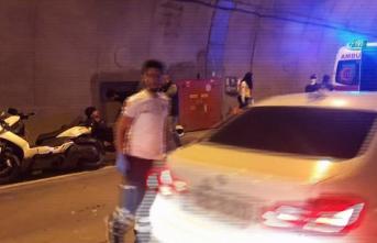 Dolmabahçe Tüneli'nde feci kaza! 1 ölü