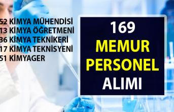 Güncel Memur personel alım ilanları! İŞKUR'dan 173 Kimya bölümü mezunu personel alımı
