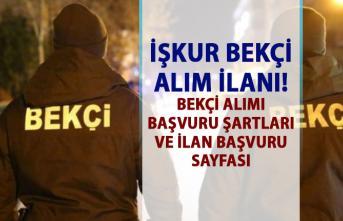 İŞKUR 2019 Bekçi Alım ilanı! İŞKUR tarafından bekçi alımı yapılacaktır!