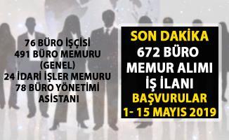 İŞKUR büro memuru alımı! İŞKUR güncel büro personel alımı iş ilanları!..