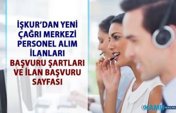 İŞKUR'dan müşteri temsilcisi personel alımı iş ilanları! Çağrı Merkezi elemanı alım ilanları!