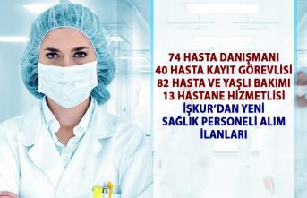 İŞKUR'dan yeni hastane personeli alım ilanları! İŞKUR sağlık hizmetleri personel alımı iş ilanları