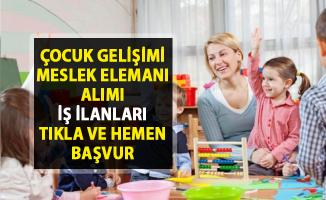 İŞKUR güncel personel alımı iş ilanları! 44 Çocuk gelişimi meslek elemanı alımı yapılacaktır