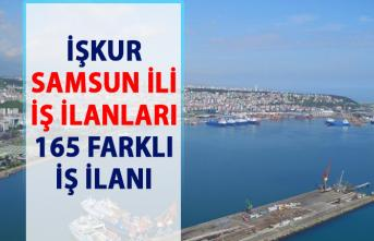 İŞKUR iş ilanları Samsun! Personel alımı iş başvurusu ilanı