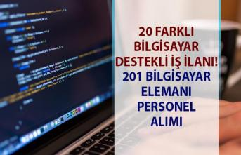 İŞKUR tarafından bilgisayar elemanı iş ilanları! Bilgisayar kullanıcısı personel alımı ilanları!