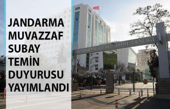 Jandarma Genel Komutanlığı Muvazzaf Subay Temin Duyurusu Yayımlandı! Jandarma Muvazzaf Subay Maaşları Ne Kadar?
