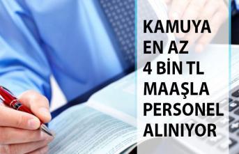 Kamuya En Az 4 Bin Türk Lirası Maaşla Yeni Personel Alımı İçin Resmi Gazete'de İlan Yayımlandı!