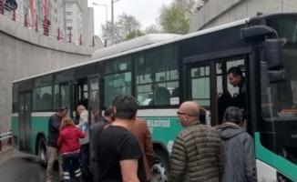 Kayseri'de Korkunç Trafik Kazası! Özel Halk Otobüsü Kaza Yaptı! Çok Sayıda Yaralı Var
