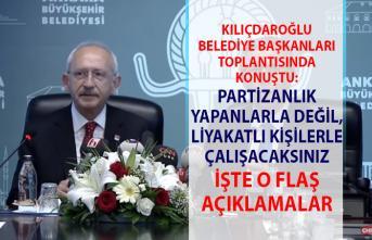 Kılıçdaroğlu, CHP'li belediye başkanlarına seslendi! Kılıçdaroğlu'ndan flaş açıklamalar..