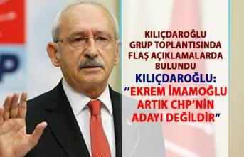 Kılıçdaroğlu'ndan flaş Ekrem İmamoğlu Açıklaması: Artık CHP'nin adayı değildir