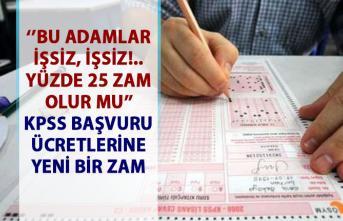 KPSS sınav başvuru ücretlerine yüzde 25 zam yapıldı!