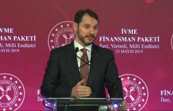 Maliye Bakanı Albayrak 'İVME Finansman Paketi' detaylarını açıkladı