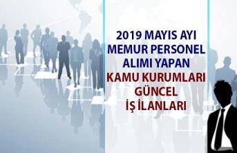 Memur Alımı yapan Devlet Kurumları Güncel İş İlanları! 2019 Mayıs Ayı Personel Alımı yapan kamu kurum ilanları!