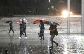 Meteoroloji'den Kuvvetli Yağış Uyarısı ! Hava Nasıl Olacak?
