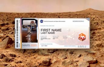 NASA 2020 Bileti Nasıl Alınır? NASA Mars Bileti İsim Yazdırma ve Bilet Alma Ekranı