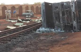 Nijer'in Başkenti Niamey'de Yakıt Tankeri Patladı! 55 Kişi Öldü