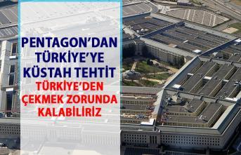 Pentagon'dan Türkiye'ye S-400 uyarısı! Türkiye F-35 savaş uçaklarını alamaz tehtidi!
