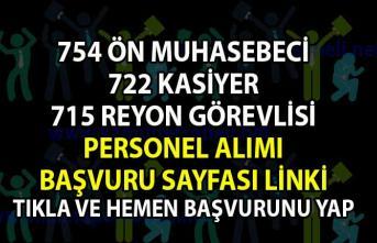 Personel alımı güncel iş ilanları! İŞKUR tarafından Ön Muhasebeci,  Kasiyer ve Reyon Görevlisi alımı yapılacaktır!
