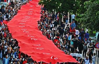 Samsun'da 19 Mayıs Gençlik ve Spor Bayramı 100. Yıl Çoşkusu