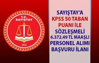 Sayıştay Bakanlığına memur personel alım ilanı! KPSS şartlı 9 memur alımı iş başvurusu!..