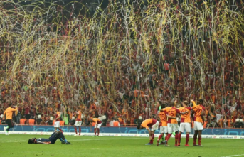 Spor Toto Süper Lig'de 22. kez şampiyon Galatasaray
