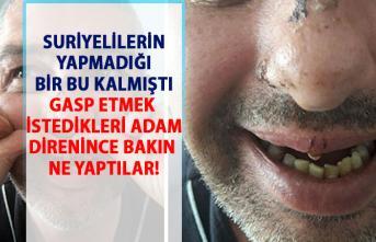 Suriyeliler dehşet saçtı! İzmir'de suriyeli çetesi!..