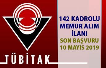 TÜBİTAK personel alım ilanları! 142 memur alımı iş başvurusu