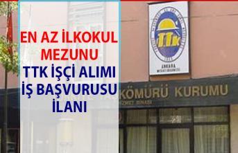 Türkiye Taşkömürü Kurumu (TTK) daimi işçi alımı iş başvurusu!