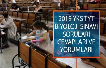 15 Haziran YKS TYT Biyoloji Sınavı Soruları Cevapları ve Yorumları ÖSYM